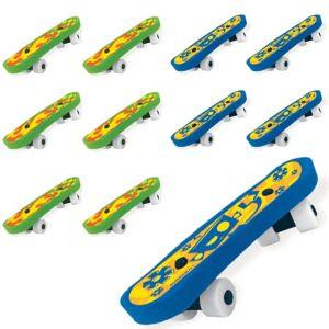 Skateboard Erasers 48ct