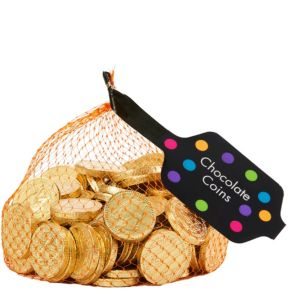 Small Gold Chocolate Coins 125pc
