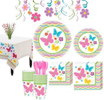 Celebrate Spring Tableware Kit for 36 Guests