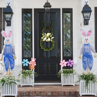 Easter Bunny Porch Decorating Kit