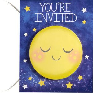 Moon & Stars Invitations 8ct
