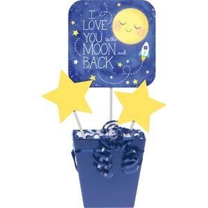 Moon & Stars Centerpiece Sticks 3ct