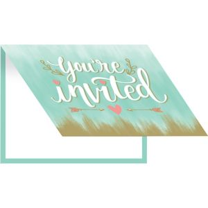 Mint to Be Invitations 8ct