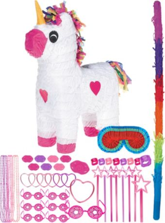 Unicorn Pinata Kit with Favors