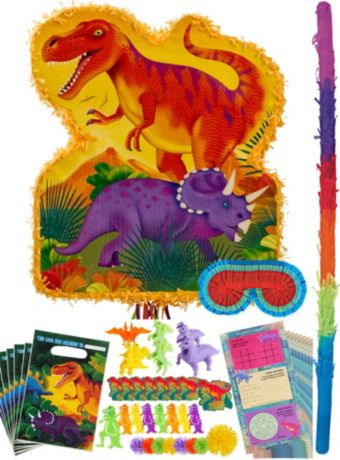Prehistoric Dinosaurs Pinata Kit with Favors