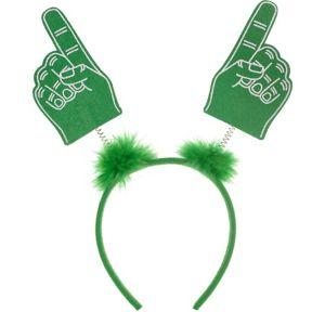 Green Finger Head Bopper