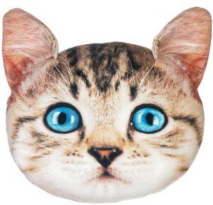 Tabby Cat Pillow Plush