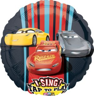 Singing Cars 3 Balloon