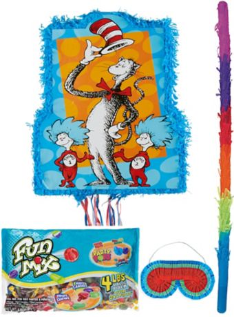 Cat in the Hat Pinata Kit - Dr. Seuss