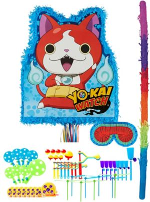 Jibanyan Pinata Kit with Favors - Yo-Kai Watch