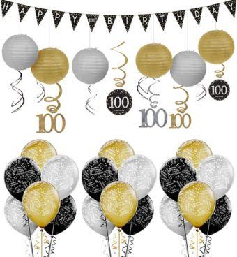 100th Birthday Sparkling Celebration Decorating Kit