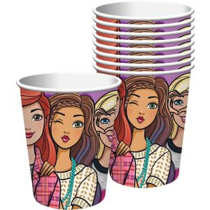 Barbie & Friends Cups 8ct