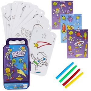 Outer Space Sticker Activity Box