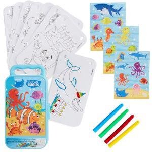 Ocean Buddies Sticker Activity Box