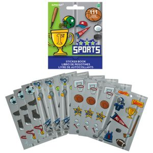 Sports Sticker Book 9 Sheets