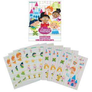 Princess Sticker Book 9 Sheets
