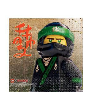 The Lego Ninjago Movie Lunch Napkins 16ct