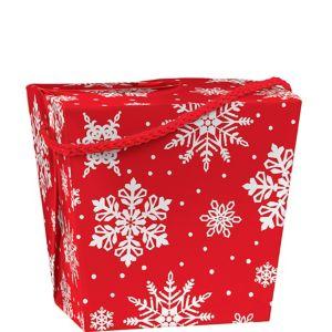 Snowflake Favor Box