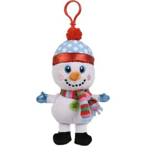 Clip-On Snowman Plush