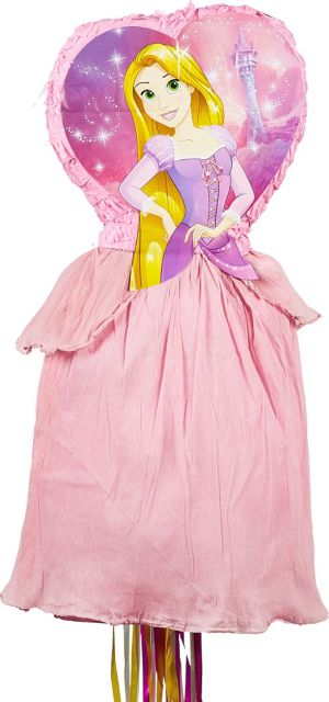 Pull String Rapunzel Pinata Deluxe - Tangled