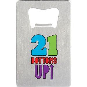 21 Bottoms Up Bottle Opener