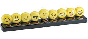 Smiley Menorah