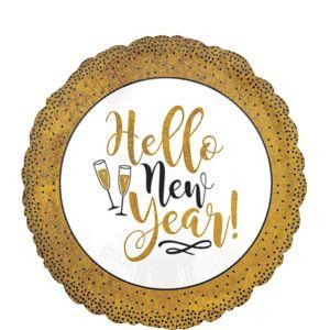 Hello New Year Balloon