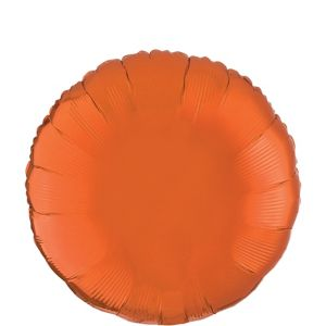 Orange Round Balloon