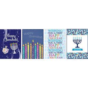 Happy Hanukkah Cards 12ct