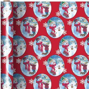 Fun in the Snow Gift Wrap