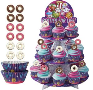 Deluxe Shopkins Cupcake Kit for 24