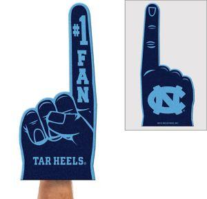 North Carolina Tar Heels Foam Finger