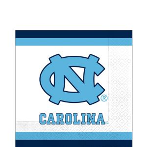 North Carolina Tar Heels Lunch Napkins 20ct