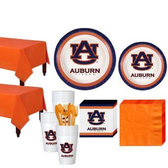 Auburn Tigers Basic Party Kit for 40 Guests
