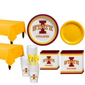 Iowa State Cyclones Basic Party Kit for 40 Guests