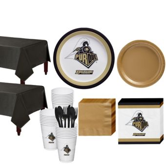 Purdue Boilermakers Basic Party Kit for 40 Guests