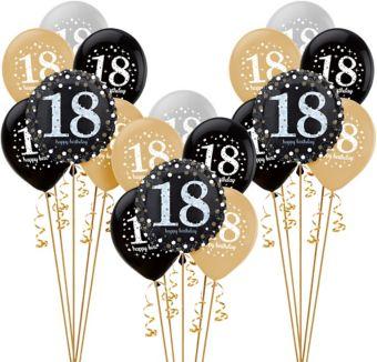 Sparkling Celebration 18th Birthday Balloon Kit