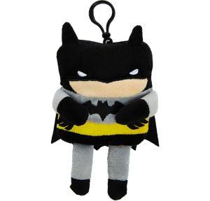 Clip-On Square Batman Plush