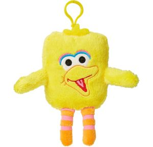 Clip-On Square Big Bird Plush - Sesame Street