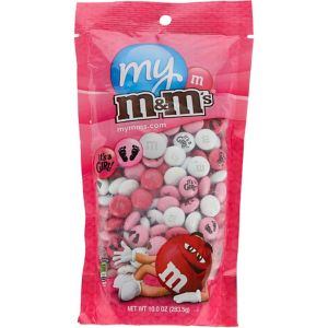 Pink Girls Baby Shower Milk Chocolate M&M's