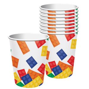 Building Blocks Cups 8ct