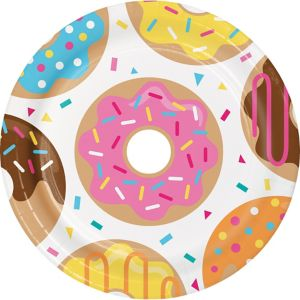 Donut Lunch Plates 8ct