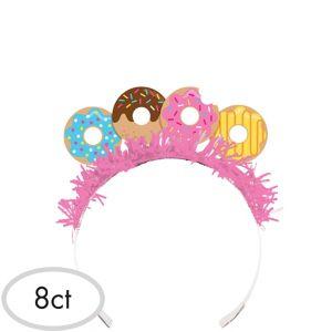 Donut Tiara Headbands 8ct