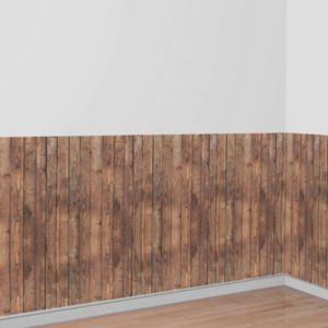 Wood Wall Room Roll