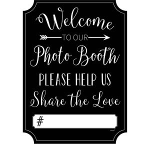 Wedding Photo Booth Sign