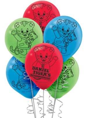 Daniel Tiger's Neighborhood Balloons 6ct