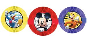 Mickey Mouse Honeycomb Balls 3ct