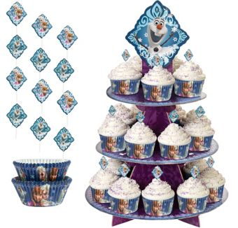 Frozen Cupcake Kit for 24