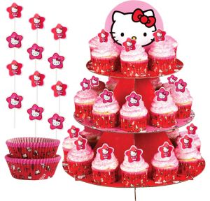 Hello Kitty Cupcake Kit for 24