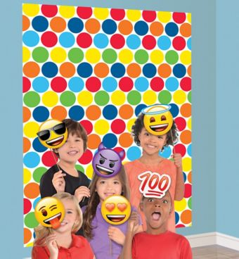 Smiley Photo Booth Kit